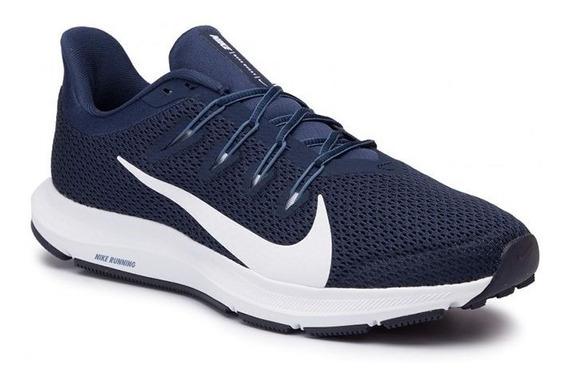 Zapatillas Nike Quest 2 Azul Talles Grandes Ci3787400