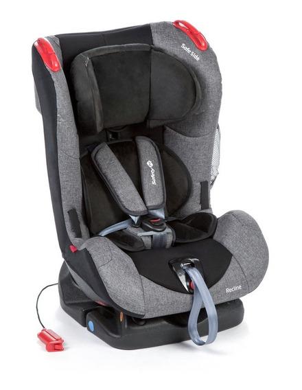 Cadeirinha Cadeira Carro Safey 1st Recline Grey Até 25kg
