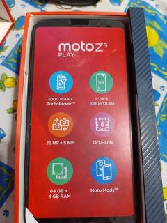Motorola Moto Z3 Play!!! Funda Y Vidrio De Regalo!