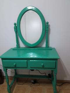 Mueble Tocador Con Espejo - 90 X 60 Cm