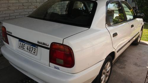 Susuki Baleno 1998  Nafta 1.600 Cc. Sedan.  Buen Estado.
