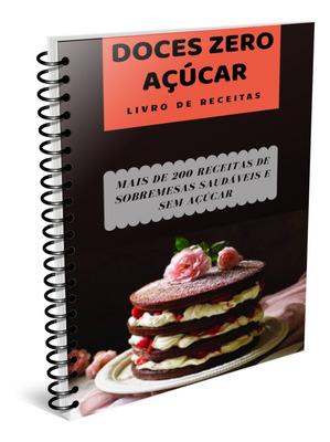 Promoção De Livro De Receitas De Zero Açucares Para Dietas