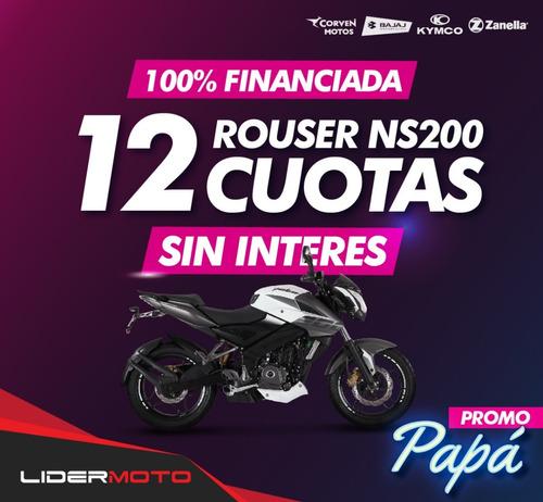 Bajaj Rouser 200 Ns - No Fz, No Cbr - Lidermoto - San Justo
