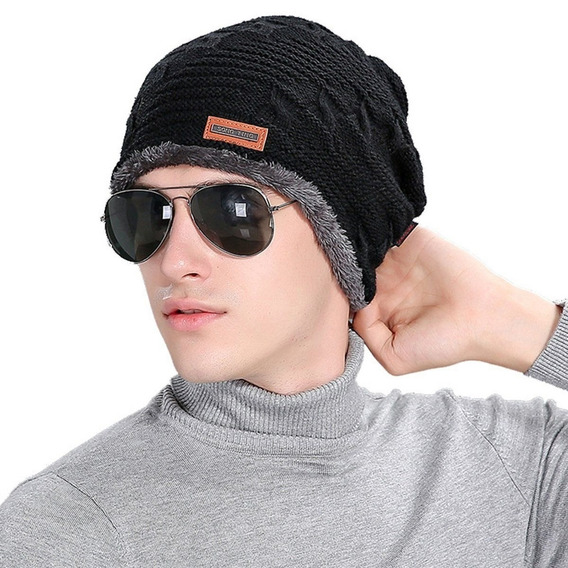 Touca Gorro Masculino Pelúcia Frio Extremo Zero