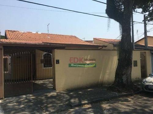 Imagem 1 de 5 de Casa Com 4 Dormitórios À Venda, 208 M² Por R$ 542.000,00 - Monte Castelo - São José Dos Campos/sp - Ca6125