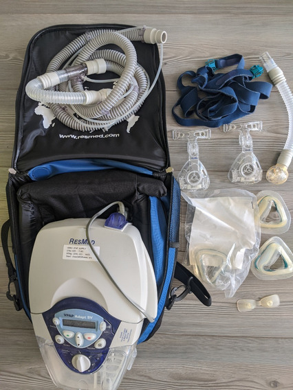 Respirador Resmed Adapt Sv + Humidaire 2i
