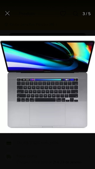 Macbook Pro 2019 16pol L9 8core 2.4ghz 64gb 8 Tb 5500 (8gb)