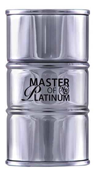 Master Essence Platinum New Brand - Perfume Masculino Eau De Toilette 100ml