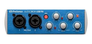 Interface De Audio Presonus Audiobox Usb 96 Promocion