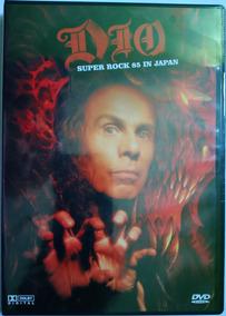 Dvd Dio Super Rock 85 In Japan (original E Lacrado)