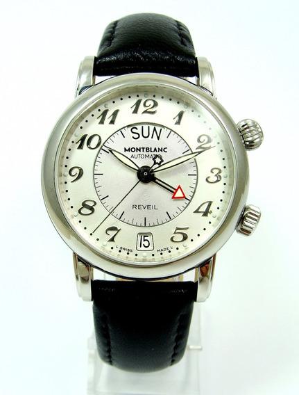 Montblanc Reveil Automatic Complication Alarm 7026, Lindo !