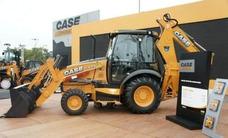 Retroescavadeira Case 580n 4x4 Compl Cabina Fechada Zero Km