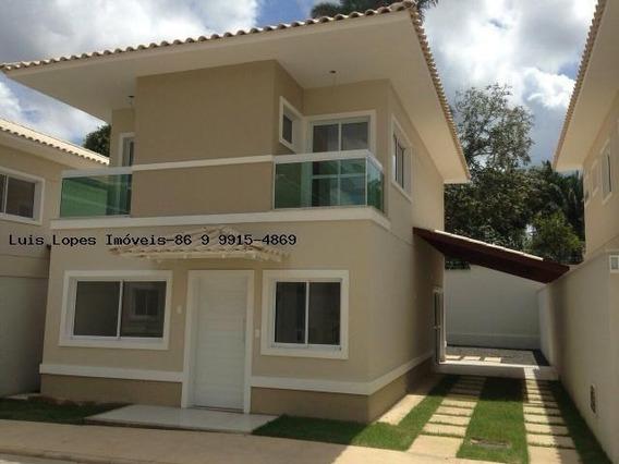 Casa Em Condomínio Para Venda Em Teresina, Socopo, 3 Dormitórios, 3 Suítes, 4 Banheiros, 2 Vagas - Casa La V_2-371425