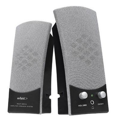 Caixinha De Som Usb Multimedia Speaker Bright Modelo 0058