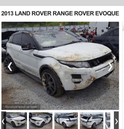 Imagem 1 de 1 de (2) Sucata Land Rover Evoque 2.0  2013 (retirada Peças)