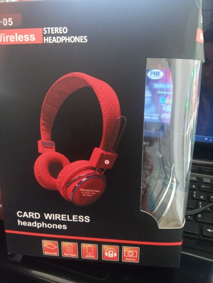 Card Wireless Fone Headphones