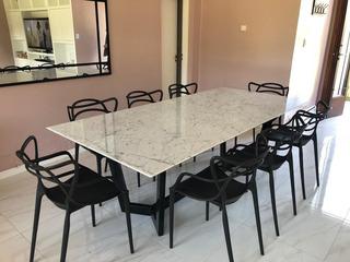 Mesa Comedor De Mármol - Carrara Design