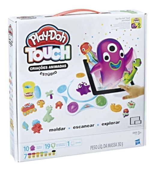 Play-doh Moldar A Vida Touch Criações Animadas Estúdioc2860