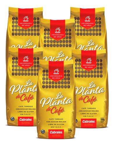 6x Cafe Molido Cabrales La Planta 1040gr Torrado