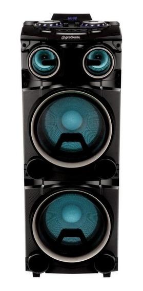 Caixa De Som Amplificada Gradiente Torrebox 1500w Fm Sd Usb