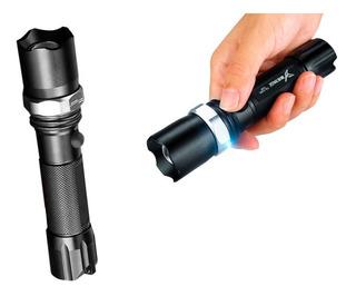 Lanterna Tática Swat Led Hx-103 Police Recarregável Sos Nova
