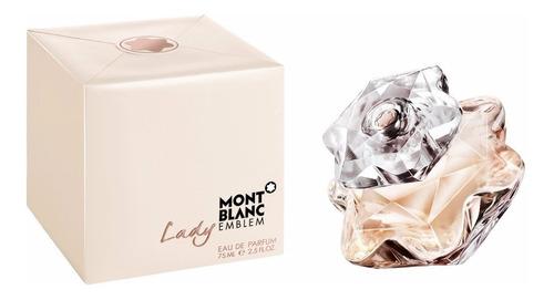 Perfume Original Lady Emblem De Mont Blanc Para Mujer 75ml
