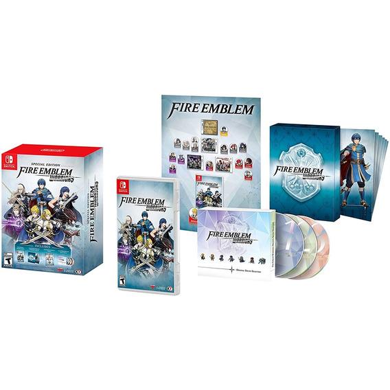 Fire Emblem Warriors Special Edition Switch Mídia Física