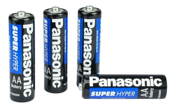 Pilha Panasonic Aa Comum Blister Com 4 Unidades Item