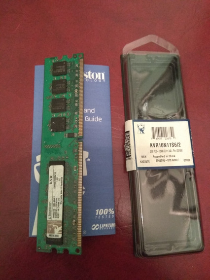 Memorias Ddr 2 Kingston 1gb Originales