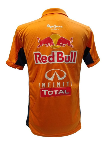 Camisa Polo Red Bull Racing F1 Promoçao