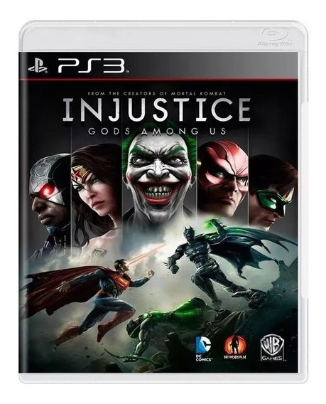 Injustice Gods Among Us Ps3 Mídia Física Pronta Entrega