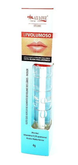 Gloss Lip Volumoso Max Love Produto Vegano 4ml