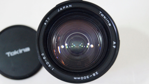 Antiga Lente Tokina Af 28-300mm,1:4.0-6.3