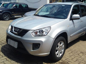 Chery Tiggo Fl 2.0 At 2015 Prata Gasolina