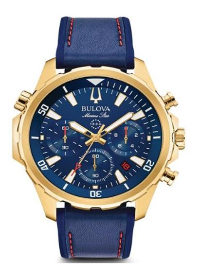 Relógio Bulova Masculino Marine Star Chronograph 97b168