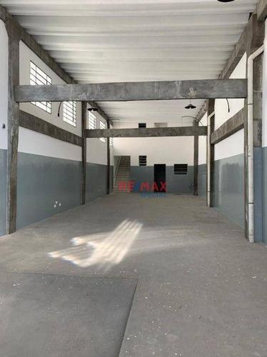 Imagem 1 de 10 de Galpão 250 M² Com Mezanino Para Locação No Itapegica/vila Endress! - Ga0011