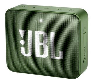Parlante JBL GO 2 portátil inalámbrico Moss green