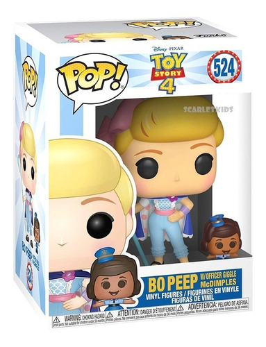 Funko Pop Boo Beep 524 Original Toy Story 4 Scarlet Kids