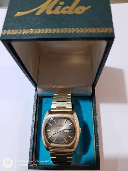 Relógio Antigo Mido Multi Star Swiss - Automatic