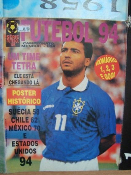 Revista Poster Futebol Sf Nº105 Brasil Tetra Campeão 1994