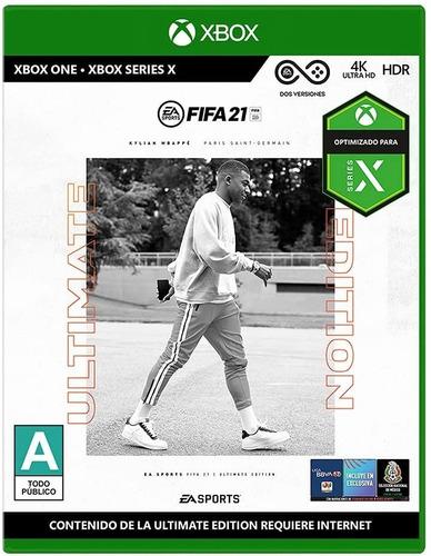 Imagen 1 de 6 de Fifa 21 Ultimate Edition - Xbox Series X   Xbox One