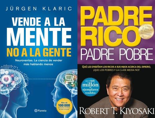 2x1 Regalo + Véndele A La Mente + Padre Rico Padre Pobre