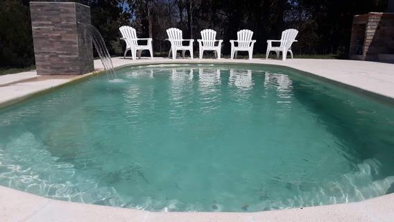 Casa 8 Per. 1 Del Mar Y Piscina Piriapolis , Solis U$s 300