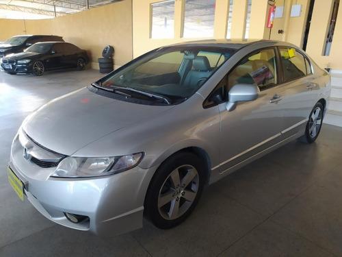 Honda / Civic Lxs 1.8 Flex 4/p Completo