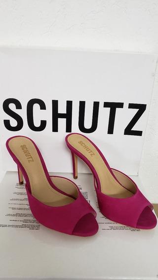 Mule Liz Nobuck - Schutz - Mule Paris High Heel