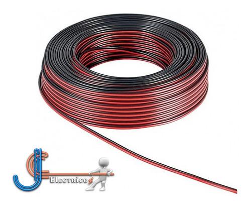 Cable Bicolor Calibre 22 Awg Para Bocina Color Negro Y Rojo Mercado Libre