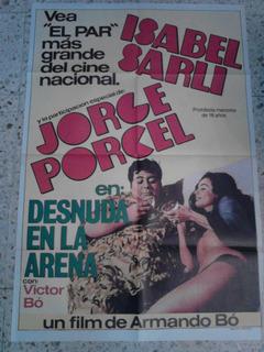 Afiche Isabel Sarli Desnuda En La Arena En Mercado Libre Argentina