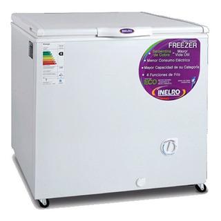 Freezer Horizontal Inelro Eficiencia A+ Fih-270 Blanco 215lt