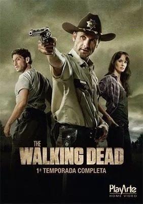 Blu Ray Box The Walking Dead 1 Temporada