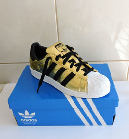 Tênis adidas Superstar Gold Original
